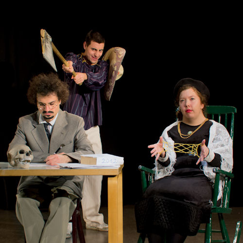 Variations on the Death of Trotsky, FELT IF 2012 by Håkan Mitts, Thespians Anonymous 2012
